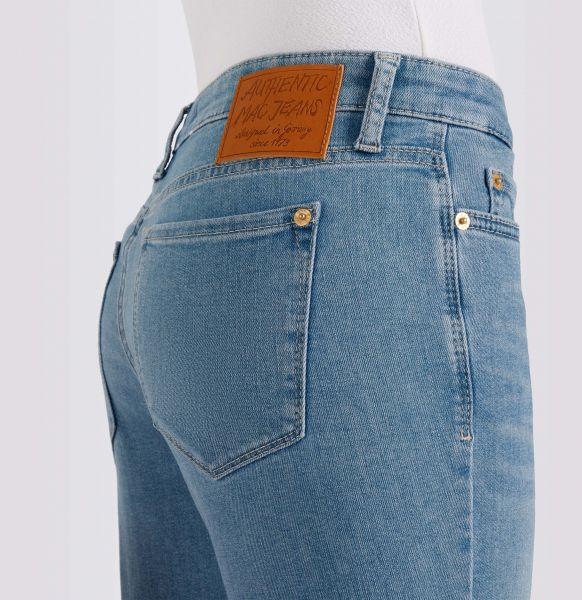 Damen Skinny Jeans Skinny Fringe Auth., Light Authentic Denim