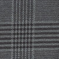 Lennox , Wool Look Stretch MODERN FIT grautöne steel blue check 074K
