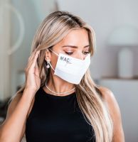 Vorschau: Maske Sylvie , 100% Polyester