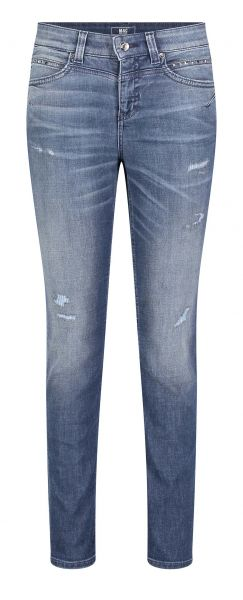 Rich Slim Glam, Light Authentic Denim