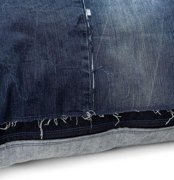 Jeans-Kissen und -Accessoires, MAC Living Collection Denim Pillow 80x80, Denim Patch
