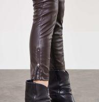 Vorschau: Slim Leather Zip, Vegan Leather