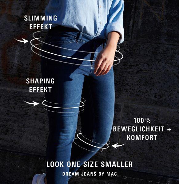 Damen Skinny Jeans Dream Skinny Authentic, Dream Authentic