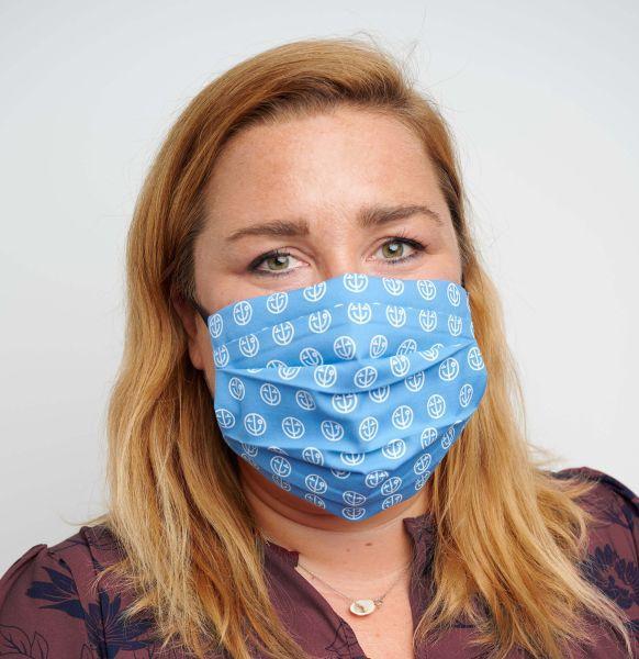 Mund-Nasen-Maske mit Tasche