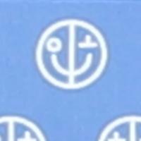 Mund-Nasen-Maske mit Tasche blautöne little boy blue printed 164B