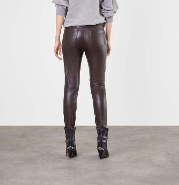Slim Leather Zip, Vegan Leather