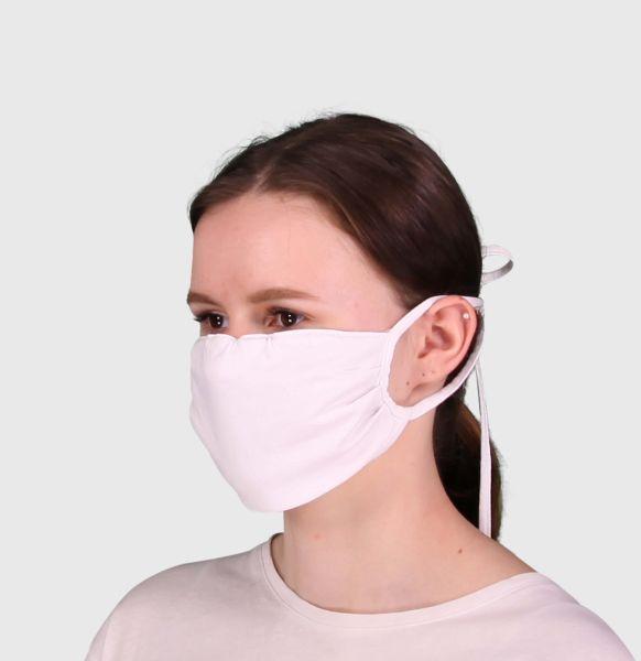 Mundmaske kaufen 10 Mund-Nasen Masken, Light Jersey
