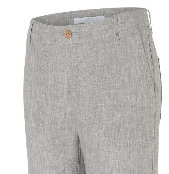 Nora Cropped, Pure Linen