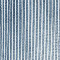 Mina , Stripe Denim HIGHWAIST blau-hell light summer stripe used D471
