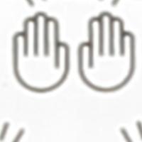Mund-Nasen-Maske mit Tasche weißtöne off white printed 011B