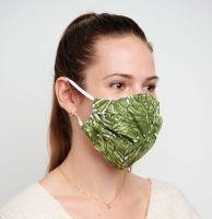 Vorschau: 2 Mund-Nasen-Masken mit Tasche, Polyester Cotton Mix