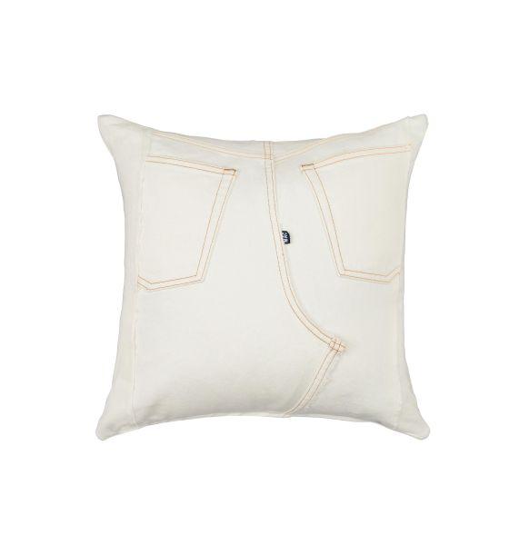 Jeans-Kissen und -Accessoires, MAC Living Collection Denim Pillow 40x40, Denim Patch