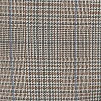 Lennox , Minimal Printed Gabardine MODERN FIT brauntöne fawn brown check 278K