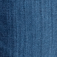 Rich Culotte , Light Authentic Denim  blau-mittel mid blue authentic used D612