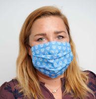 Vorschau: Mund-Nasen-Maske mit Tasche