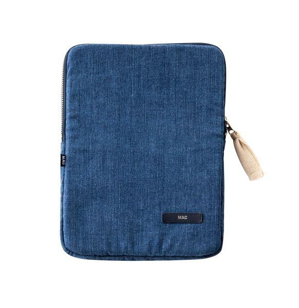 Jeans-Kissen und -Accessoires, MAC Living Collection Tablet Case , Denim Patch